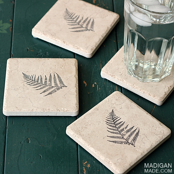 How-To: Amazingly Simple Decorated Coasters