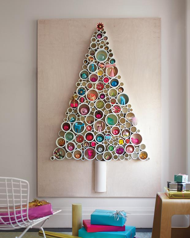 How-To: PVC Pipe Christmas Tree