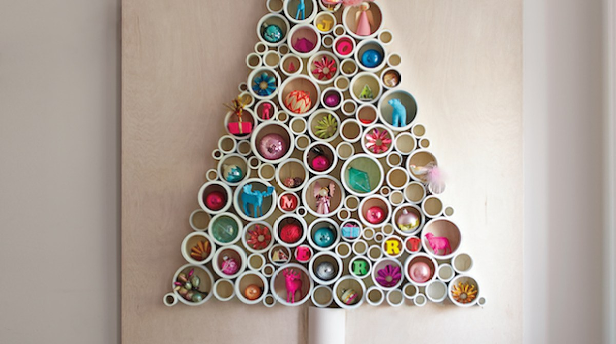 How-To: PVC Pipe Christmas Tree