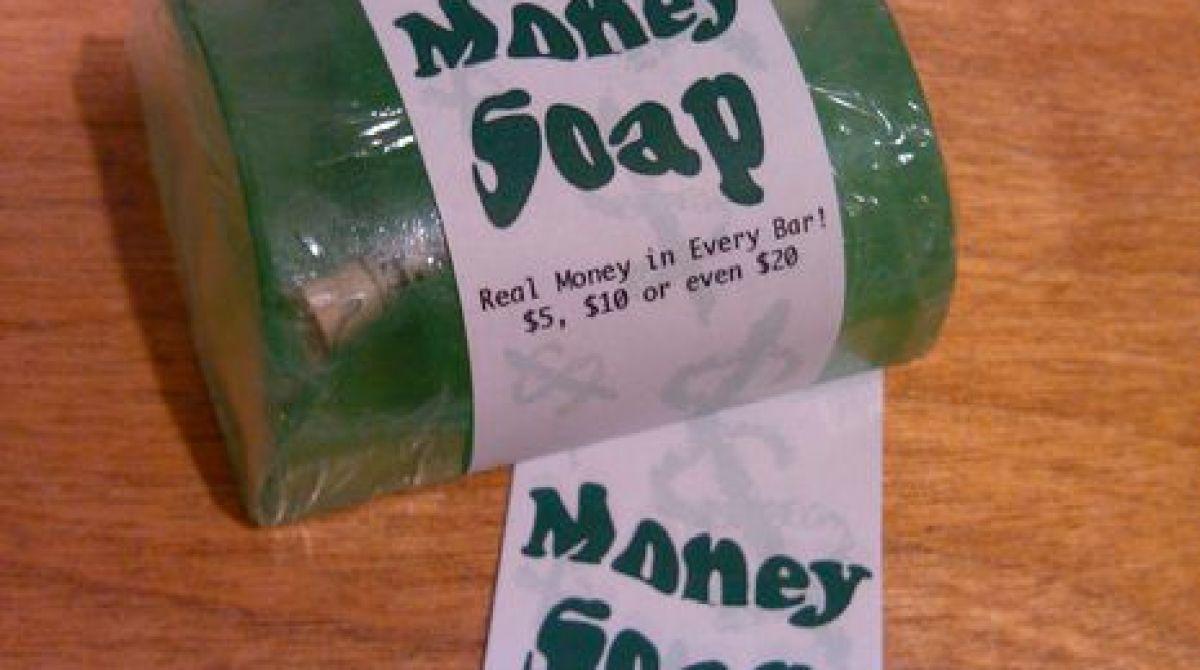 DIY Money Soap