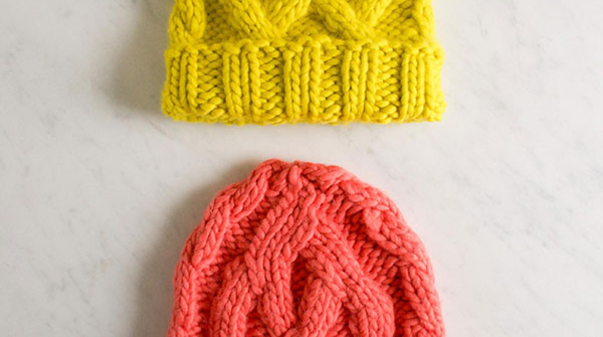 How-To: Knitted Traveling Cable Hat