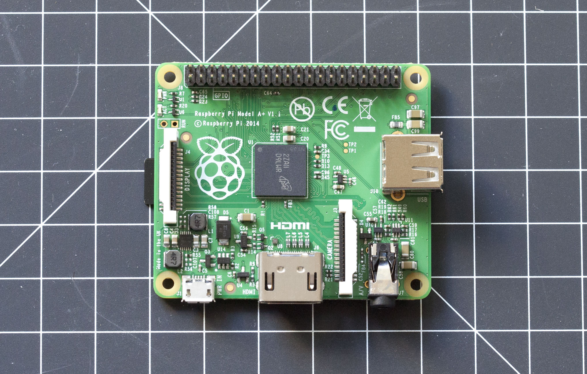 Raspberry Pi Model A+ Revealed: Smaller and Just