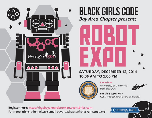 Black Girls CODE Bringing Robots to Berkeley