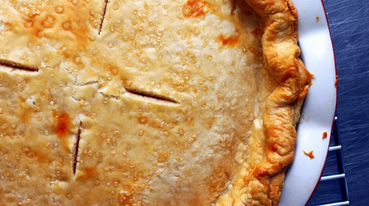Recipe: All Butter, Really Flaky Pie Crust