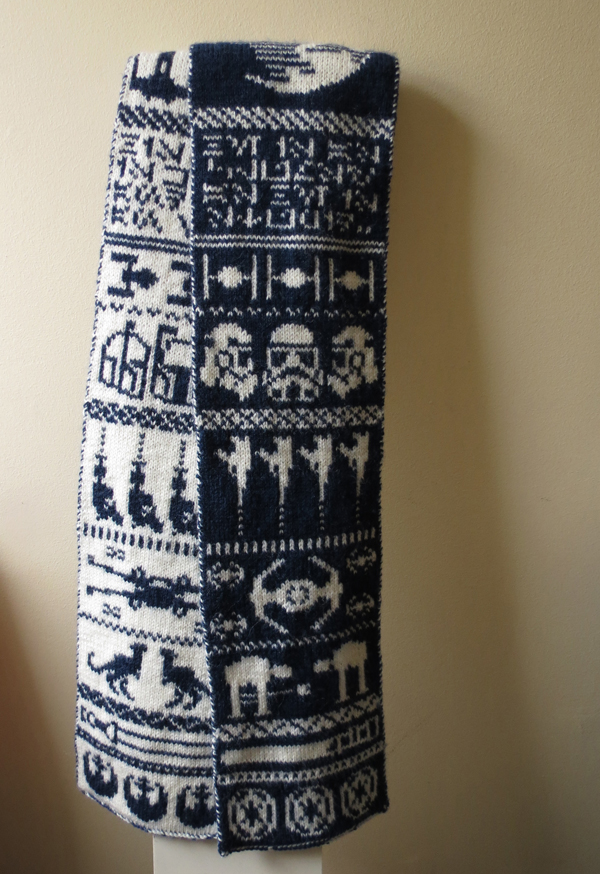 Double Knit Star Wars Scarf