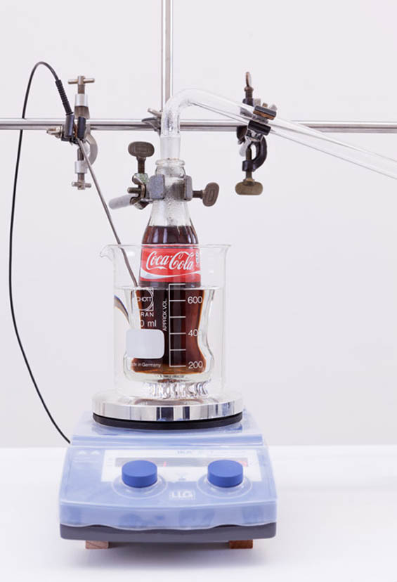 Sculpture Turns Coca-Cola Back Into Clean Drinking Water