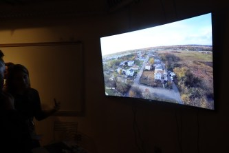 Using drones and GoPro cameras to map the Staten Island coast two years after Hurricane Sandy.