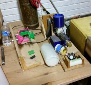 Filament extruder prototypes
