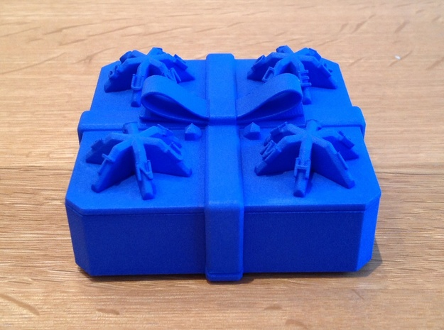 A 3D Printed Centrifugal Puzzle Box
