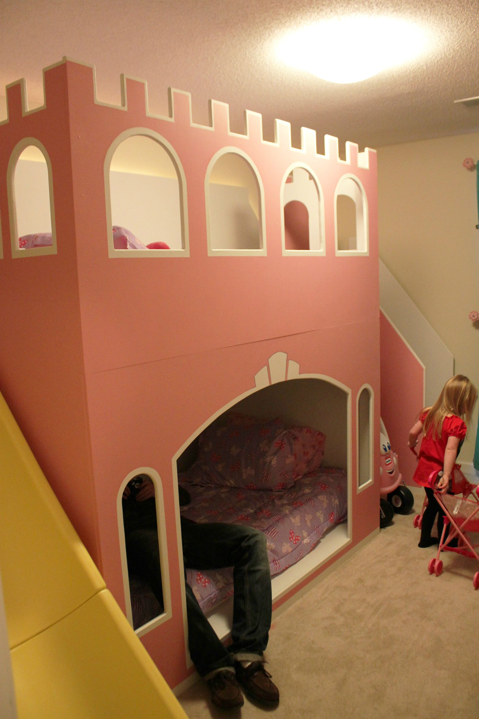 Diy Castle Bunk Bed Make