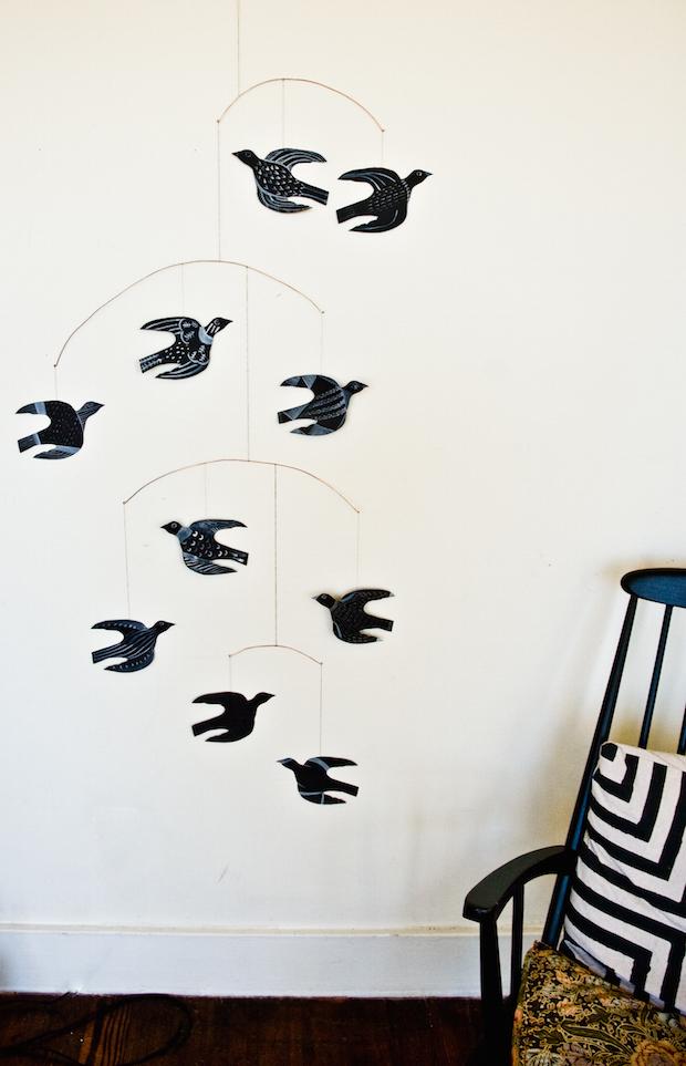 How-To: Handmade Bird Mobile