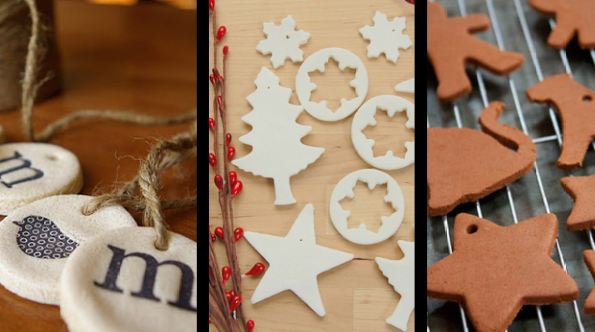 3 Ways to DIY Dough Ornaments