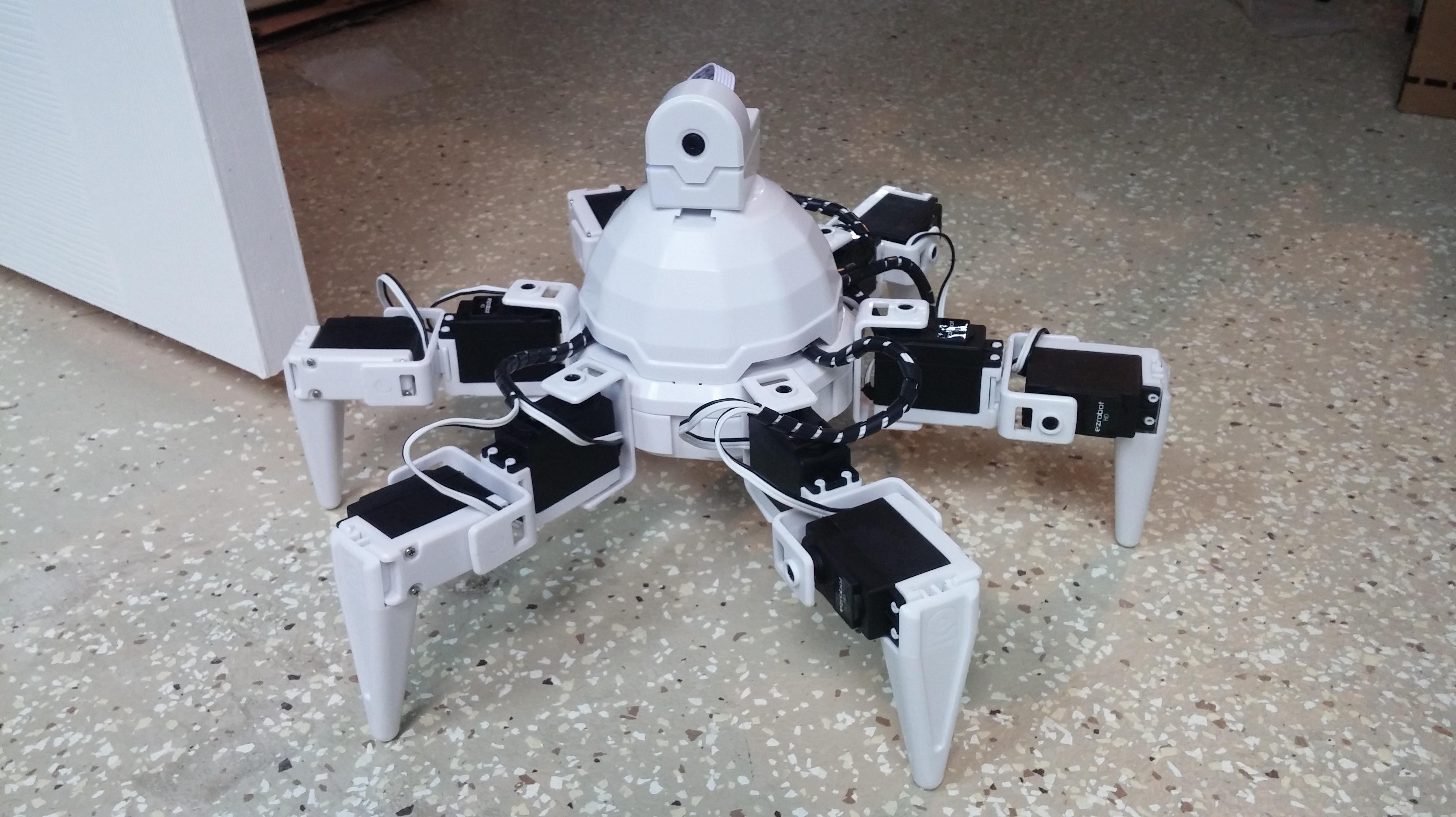 Review: EZ-Robot Six and the EZ-Builder Software