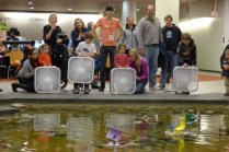 Boat racing with Maker Kids
