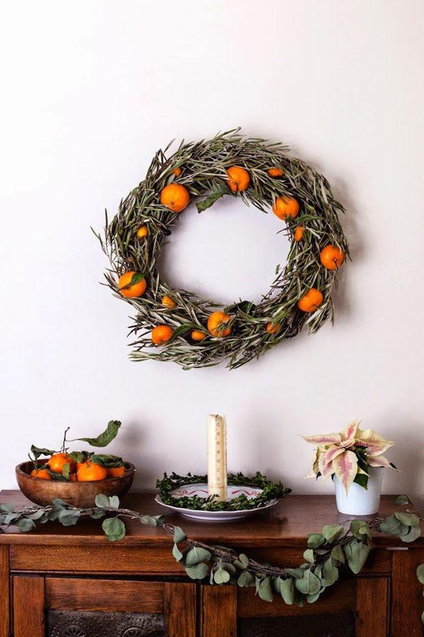 How-To: Holiday Citrus Wreath