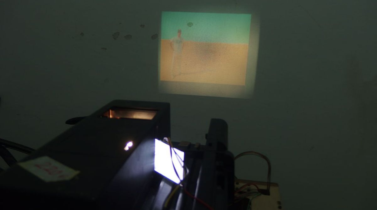 Convert an Old Slide Projector for Modern Video Use