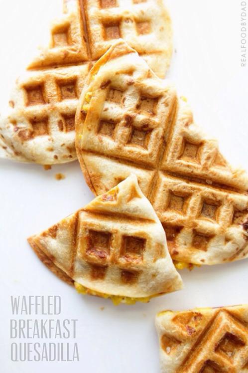 Recipe: Waffle Your Breakfast Quesadilla