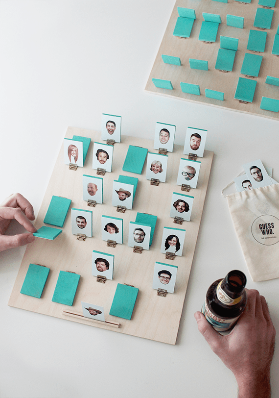 How-To: Personalized Guess Who?-Inspired Board Game