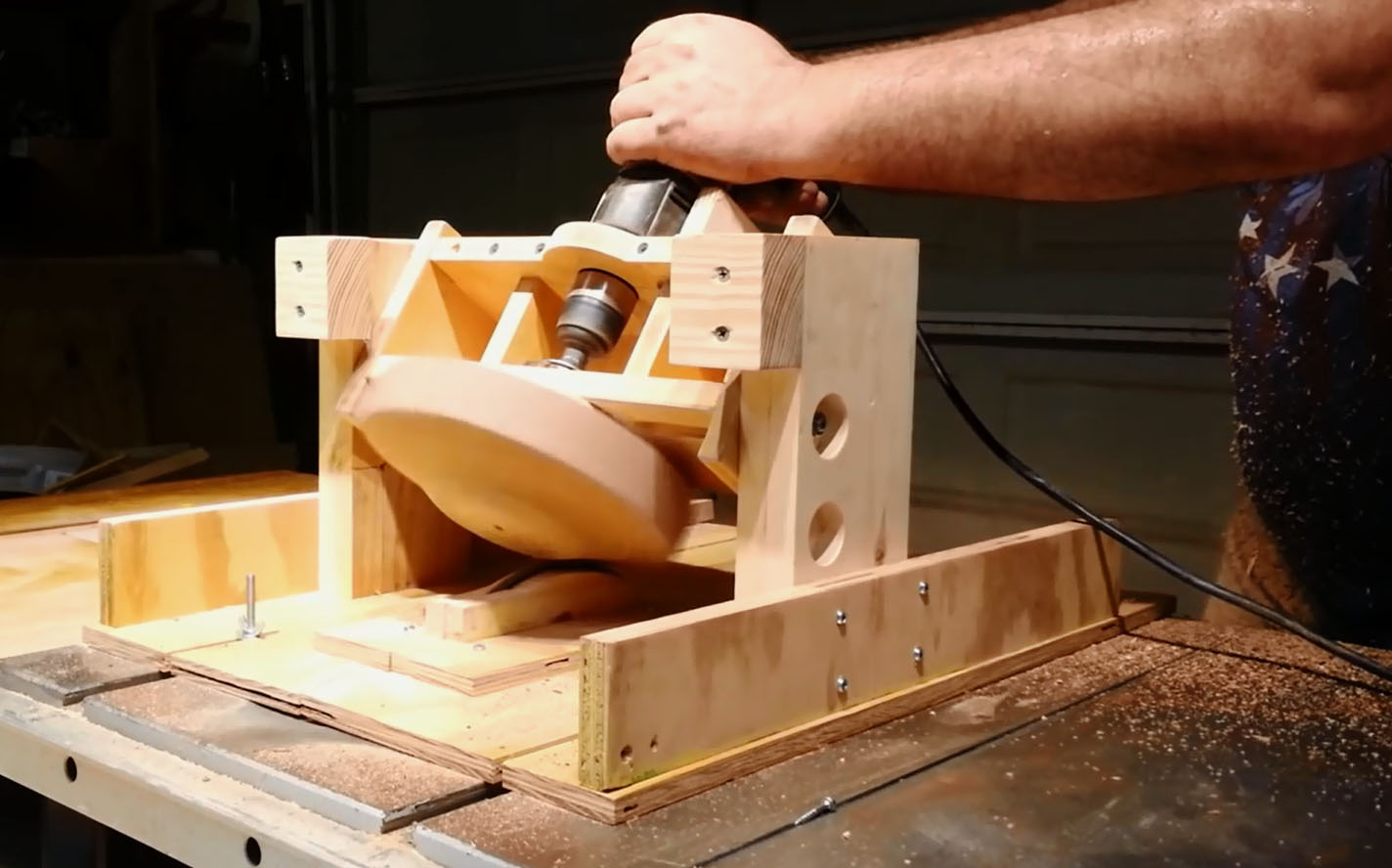 How To Turn a Bowl With a Table Saw