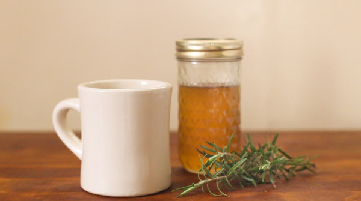 Recipe: Rosemary, Vanilla, and Honey Coffee Syrup