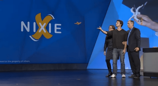 Nixie the Wearable Selfie Drone Delights Crowd at CES 2015