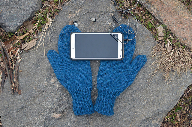 DIY Smart Phone Mittens