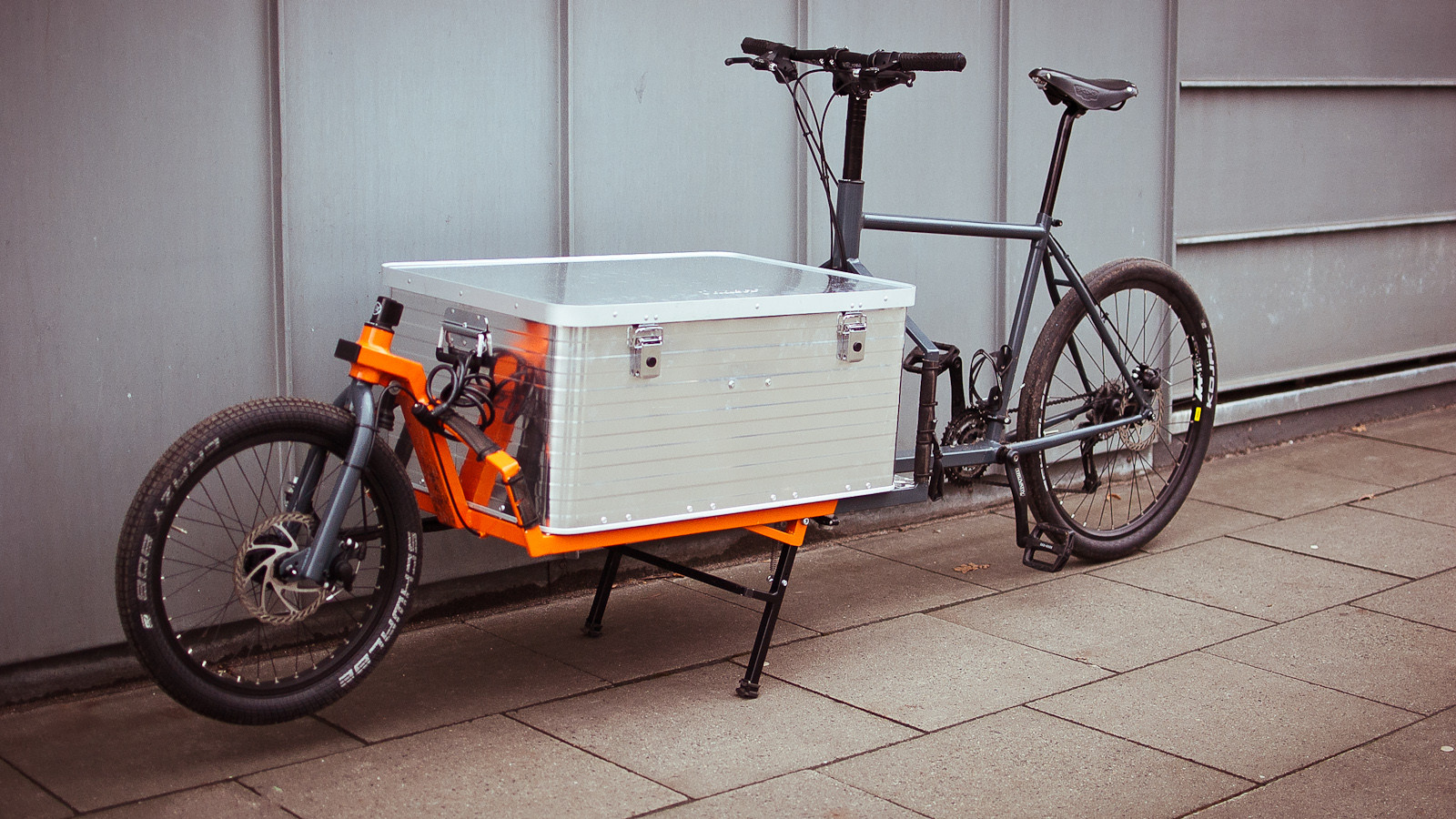 How I Made a Cargo Bike in My Kitchen