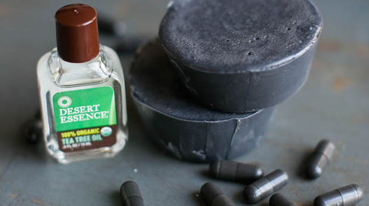 Beauty Basics: DIY Tea Tree and Activated Charcoal Soap