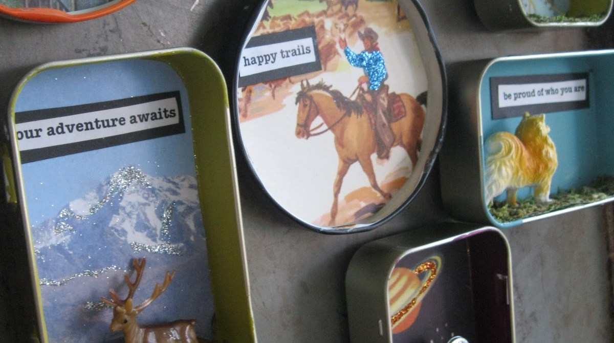 Artistic Altered Tins Roundup