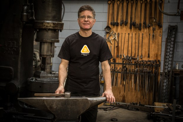 Now in his 40th year of Blacksmithing, James Austin opened up his teaching shop to give us an inside look at metalworking.