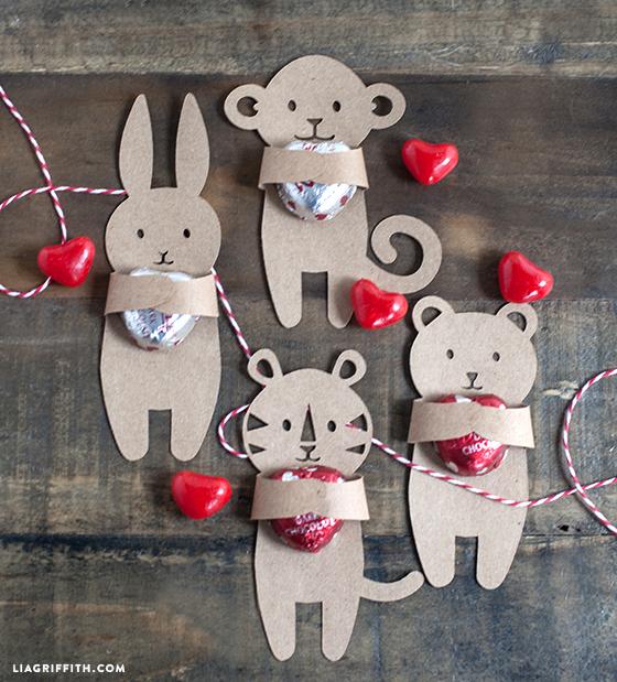Candy Hugger Valentines