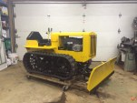 Ryan M's Mini Dozer was built using parts from old lawnmowers and other parts he fabricated in his garage.