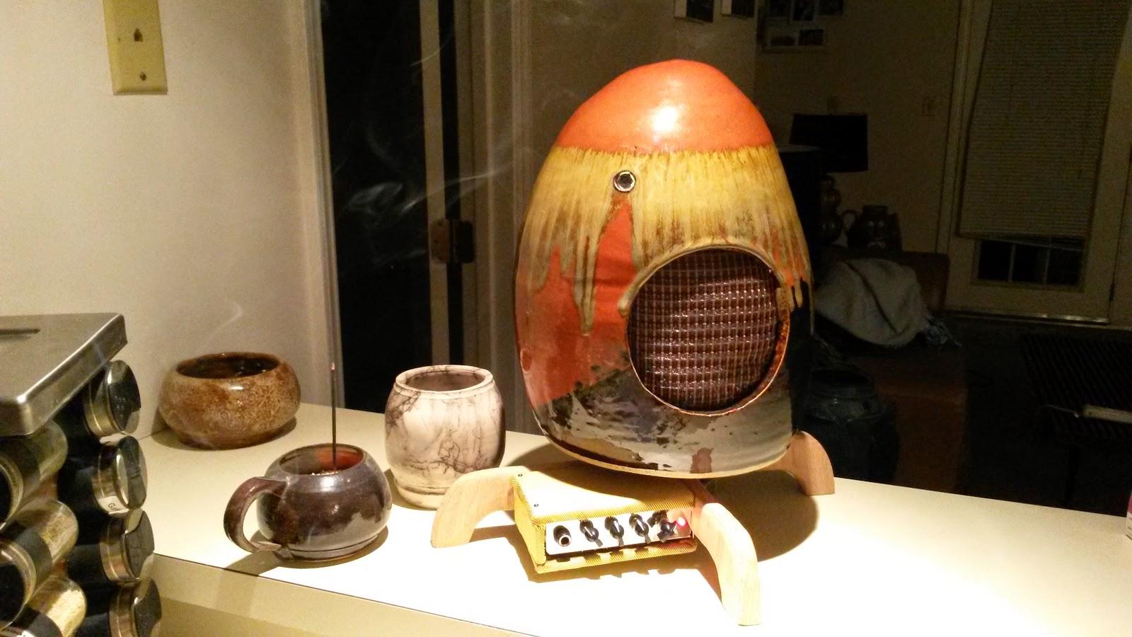 Creative Ceramics Turn Guitar Amps into Art