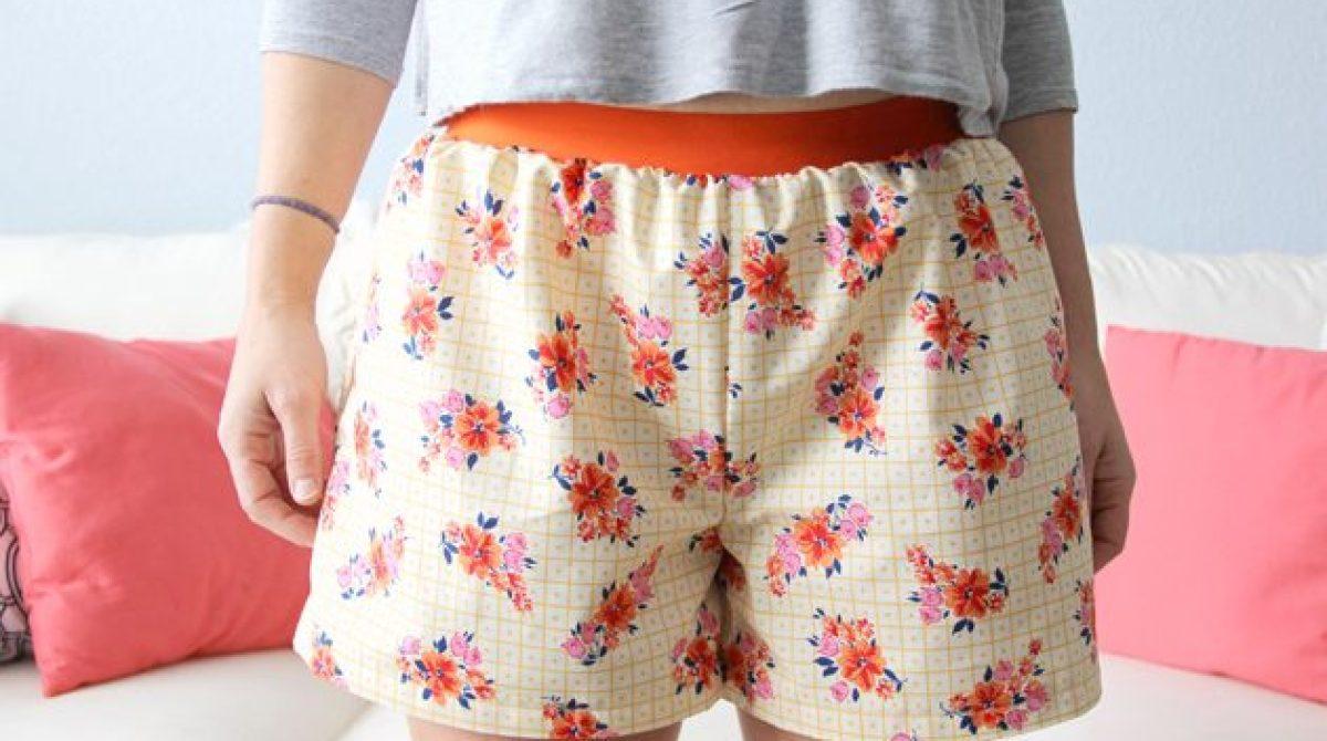 Women's Boxer Shorts Sewing Pattern