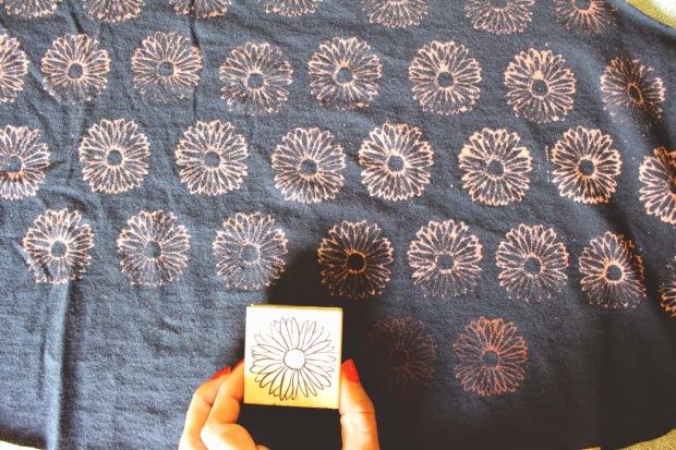 Bleach Stamp Pad DIY 7