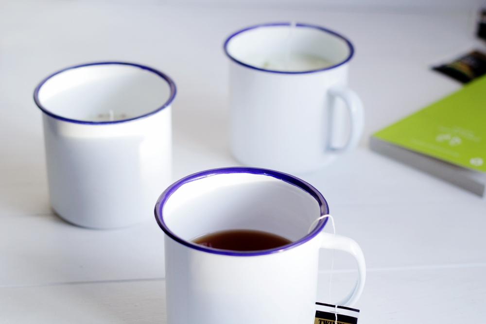 DIY Tea Infused Candles