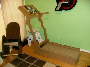 Extreme Cardboarding: Cardboard Treadmill Workout   Make: