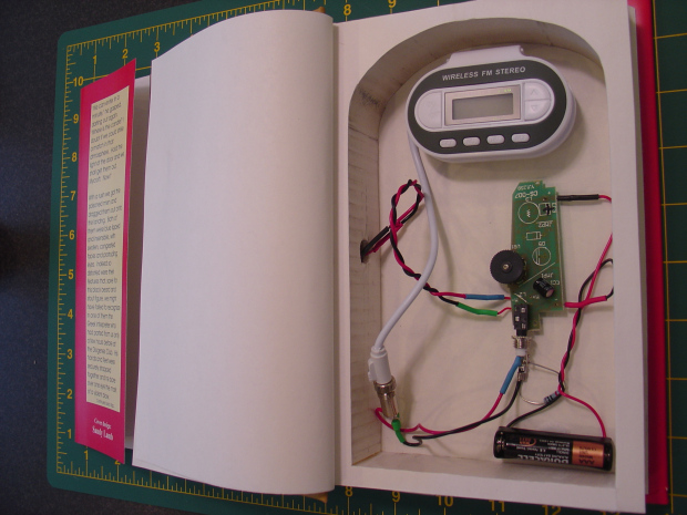 Hollow Book Spying Device