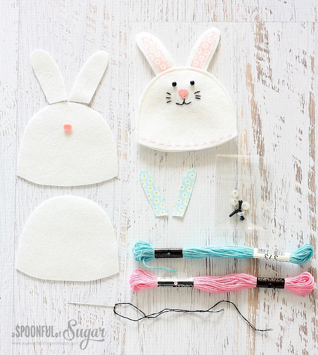 How-To: Super-Cute Easter Bunny Egg Cozy