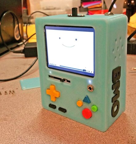 BMO Build your own 3D printed BMO from Adventure Time, complete with a Raspberry Pi inside to fulfill all of your retro gaming desires.