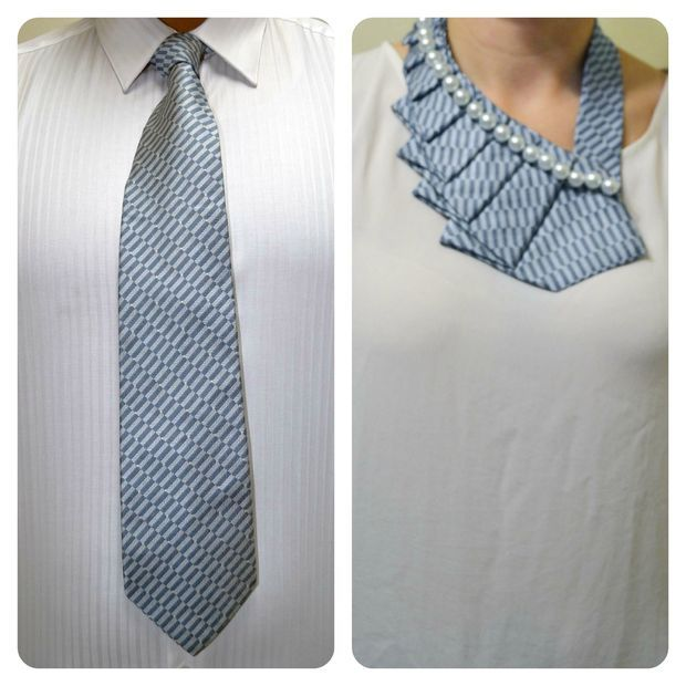 How-To: Make a Necklace from a Necktie