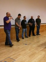 A panel of Raspberry PI vendors takes questions from the audience.