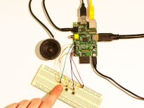 Making a Simple Soundboard with Raspberry Pi This simple breadboard build uses a Raspberry Pi and the sound functions of the Pygame module in the Python programming language to make a soundboard.
