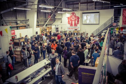 Huge crowds were in attendance at the HP sponsored Drone Meetup.
