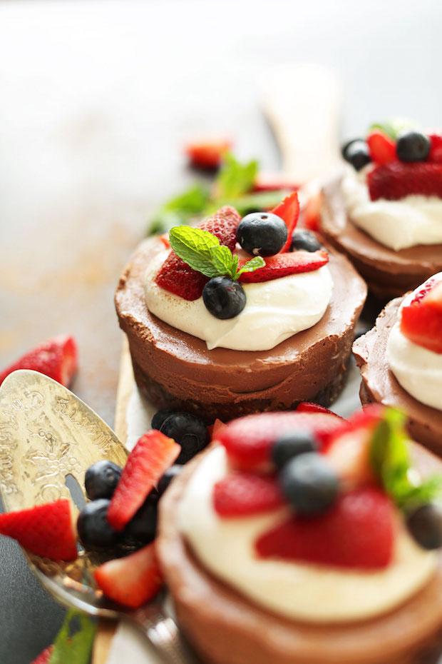 Recipe: Vegan No Bake Chocolate Cheesecake