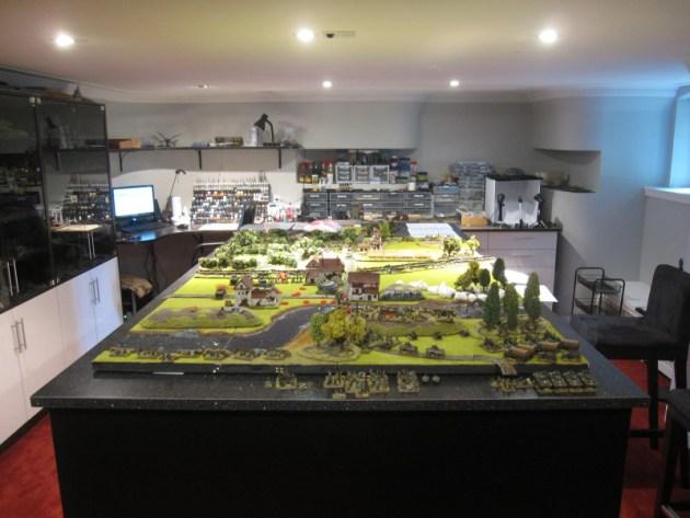 Dad Builds Ultimate Tabletop Wargaming Room