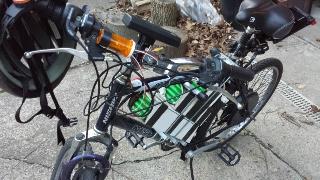 Electric bicycle data collection and logging service for battery health by Chuck Swiger.