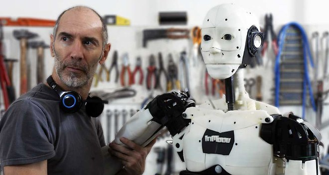 InMoov, The Crowdsourced Robotic Future Returns to Maker Faire