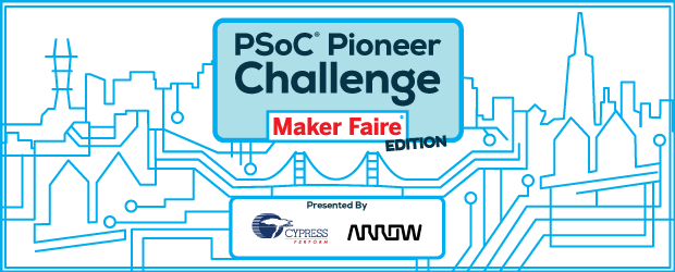 Announcing the Winners of the PSoC Pioneer Challenge