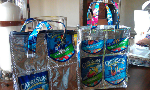 Eye-catching life extension for landfill-bound packaging Photo: Carissa Rogers/flickr